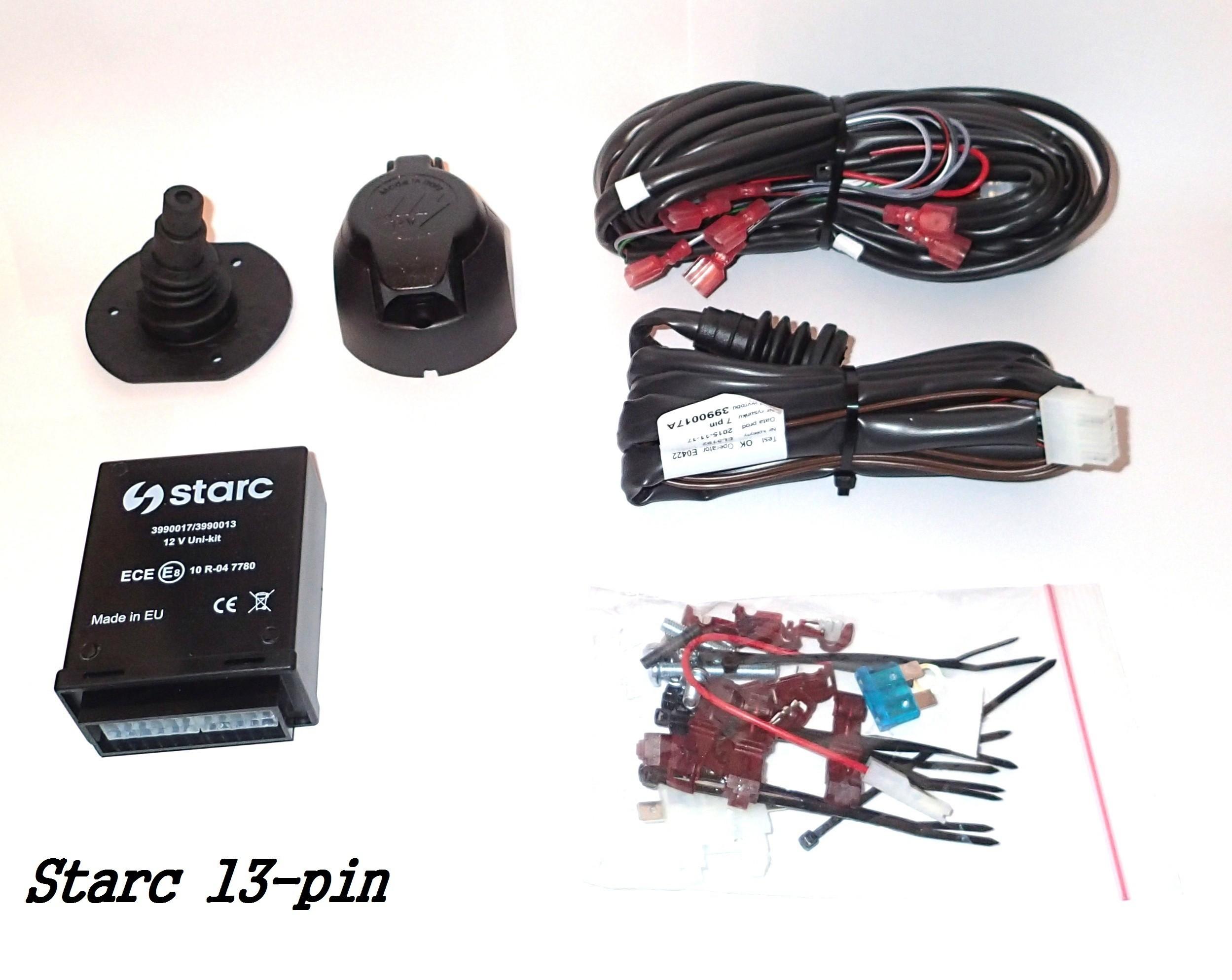 Wiązka elektryczna z modułem i gniazdem 13 pin