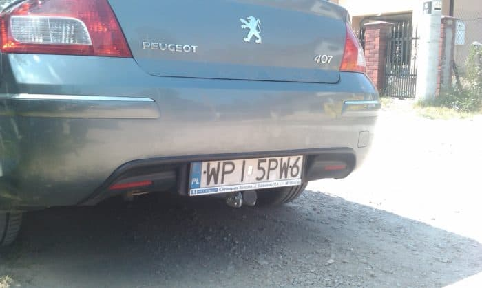 Peugeot 407 sedan (od 2004r. do 2008.)